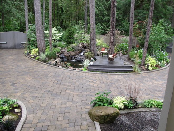 17 best ideas about circle driveway on pinterest circle Semi circle driveway designs