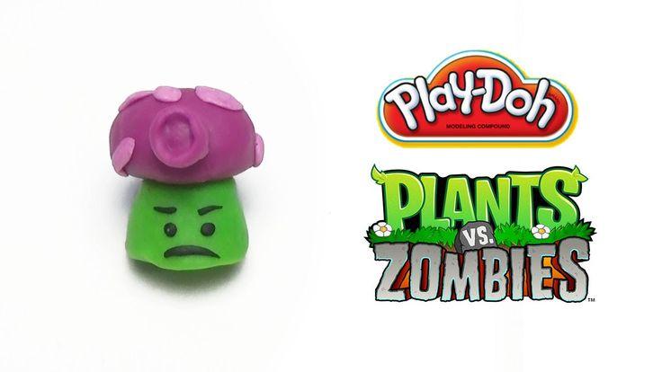 Play-Doh Plants vs Zombies Garden Warfare Fume-shroom from Plants Vs. Zo...