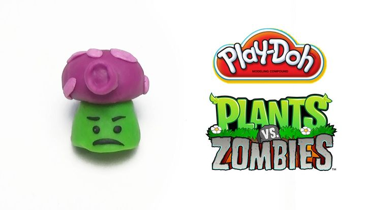 Play-Doh Plants vs Zombies Garden Warfare Fume-shroom from Plants Vs. Zo...