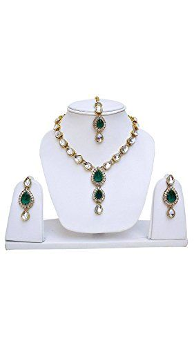 Elegant Ethnic Green Stone Indian Bollywood Gold Plated K... https://www.amazon.com/dp/B06ZY9DH85/ref=cm_sw_r_pi_dp_x_ZeE.yb237146T
