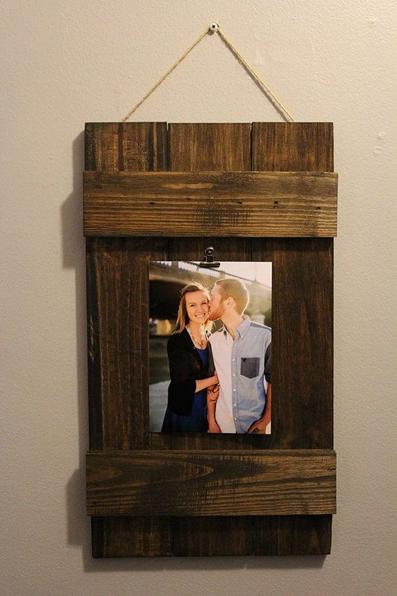 Pallet Picture Frames by prizedpallets on Etsy