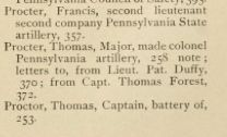 "Tuesday's Tip: Who was ""General Proctor""? - Officers by the name of Proctor listed in, ""The Battles of Trenton and Princeton"" by William S. Stryker, 1898. #genealogy"