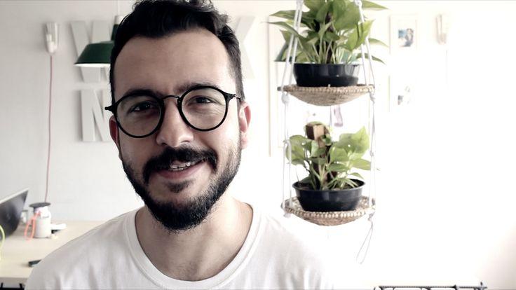 PLANT HANGER : DIY : VASO SUSPENSO (sem MACRAMÊ)