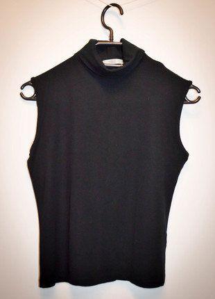 Kup mój przedmiot na #vintedpl http://www.vinted.pl/damska-odziez/swetry-z-golfem/15927015-czarny-klasyczny-golf-mark-marks-spencer-bez-rekawow