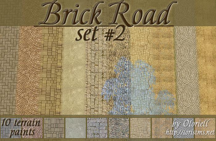 Brick Road set #2
