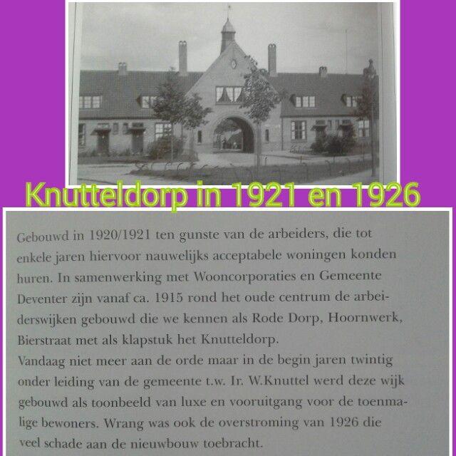 Knutteldorp 1921 en 1926
