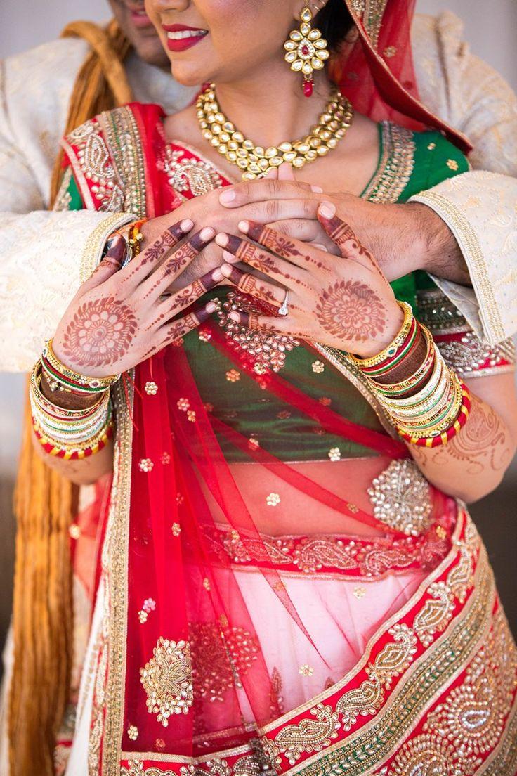 modern luxury gujarati indian wedding | elizabeth nord photos
