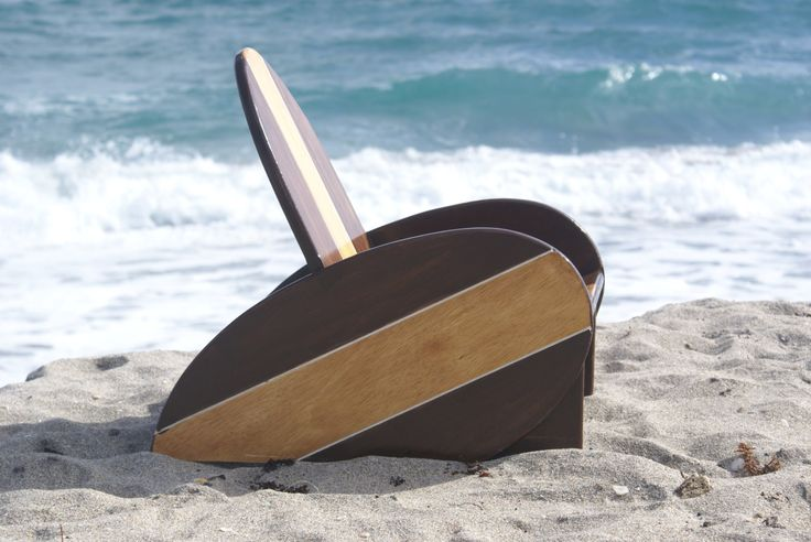 Kid's vintageSurfboard Chair with 2 tone finish,  Surfboard, Nautical theme, nautical nursery, Nautical Themed Chair, nautical nursery by Adamzoriginals on Etsy