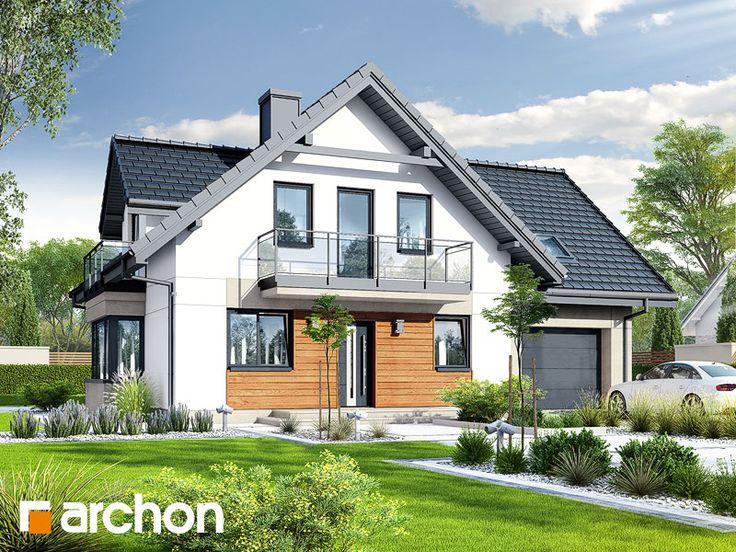 Pin On Najnowsze Projekty Domow Archon