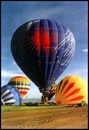 Fair Winds Hot Air Balloon Flights - Boulder  I did this-amazing experience!  Not this balloon, but did this!!