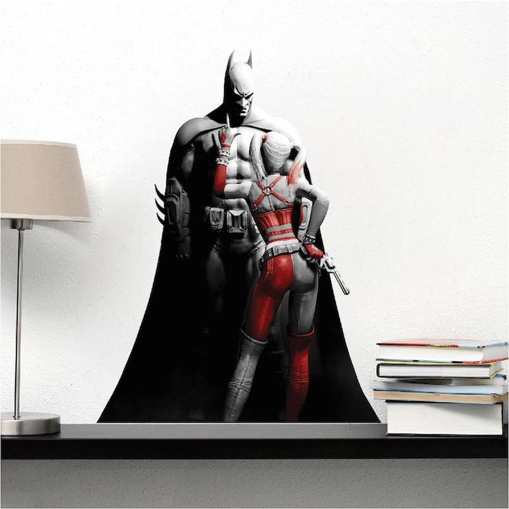 Cool Batman Bedroom Wall Sticker   Batman Wall Decal   Superhero Wall  Design   Primedecals