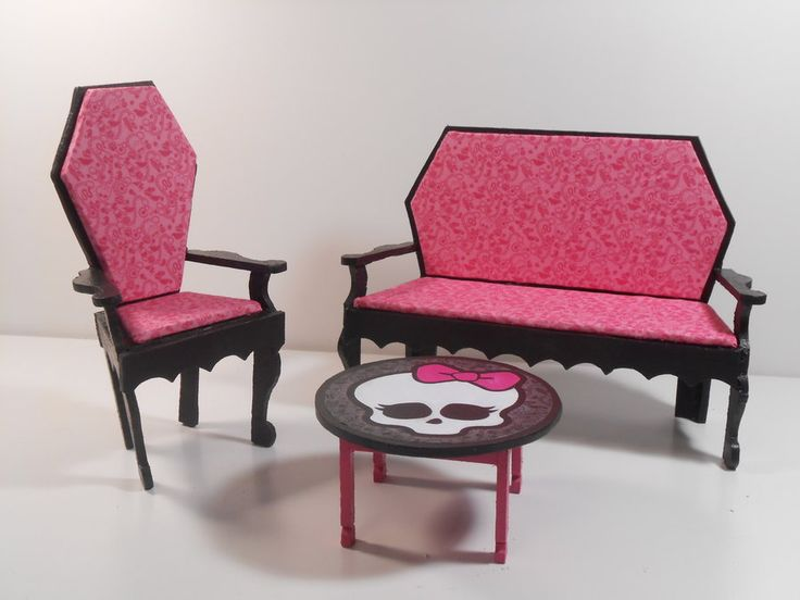 Monster High Homemade Furniture | Monster High Furniture   Dining Room By  Monsterminicustoms On .