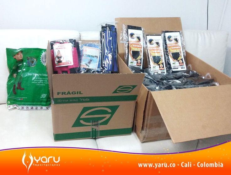 YARU IMPORTACIONES www.yaru.co WhatsApp 312 2525303 - 320 6648573 Envios de productos importados y nacionales por Servientrega a toda Colombia. Fajas para Mujer y Hombre de compresión y termicas. Fajas de latex Colombianas originales.