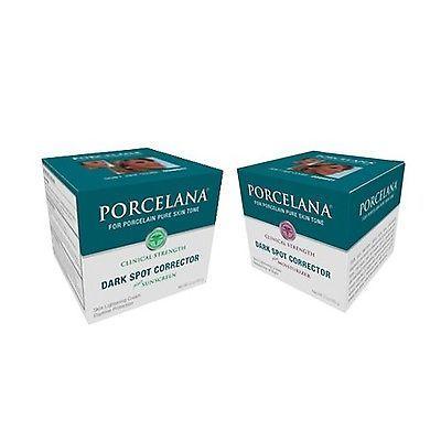 Porcelana Skin Lightening Night Cream & Fade Dark Spots Treatment Skin Lighte...