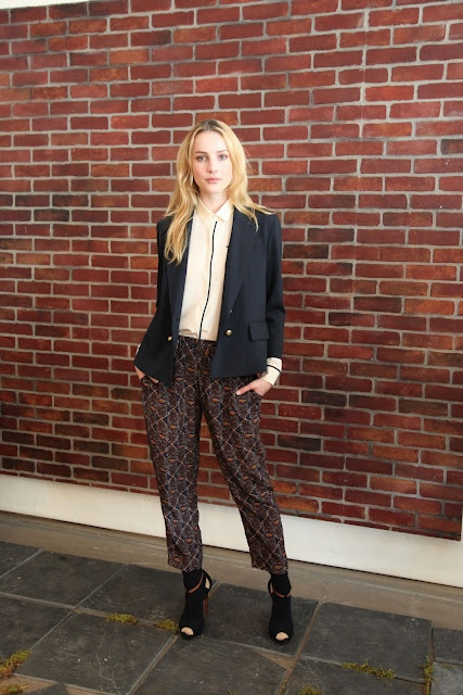 Silk Harlem Pants from Club Monaco