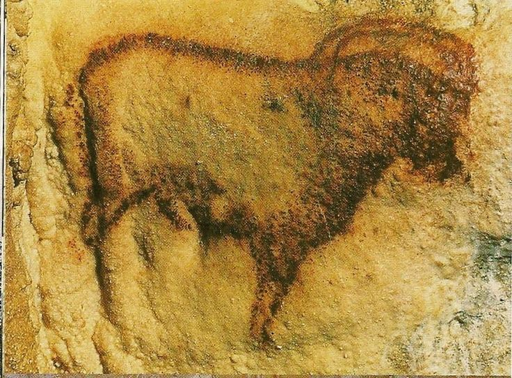 Cave painting at Cougnac, Payrignac, France, 20-25,000 years old.