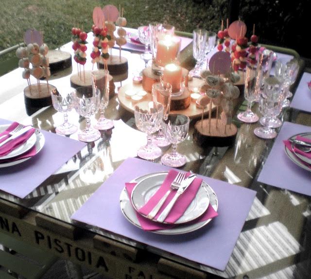 Cenetta Pink: aperitivo verticale