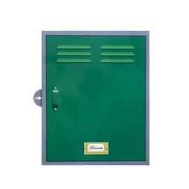 Heals Green Locker Box Bathroom Cabinet
