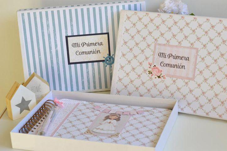 Escrápateconmigo - Comuniones - Libro de firmas de comunión, álbumes de fotos: Encarga un regalo precioso para hacer de la comunión un día inolvidable.