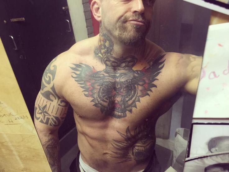 Photo by (____davew____) on Instagram |  #strongman, #stronger, #tattoo, #tattoos, #tattooed, #tattooart, #tattooink, #tattoosleeve, #tattoolove, #tattooaddict, #tattooaddicts, #tattooedmen, #tattoooftheday, #lifestyle, #chesttattoo, #chesttattoos, #ilovetattoos, #gym, #selfie, #selfies, #necktattoo, #necktattoos, #ink, #inkedup, #fit, #fitfam, #fitness, #fitnessmotivation