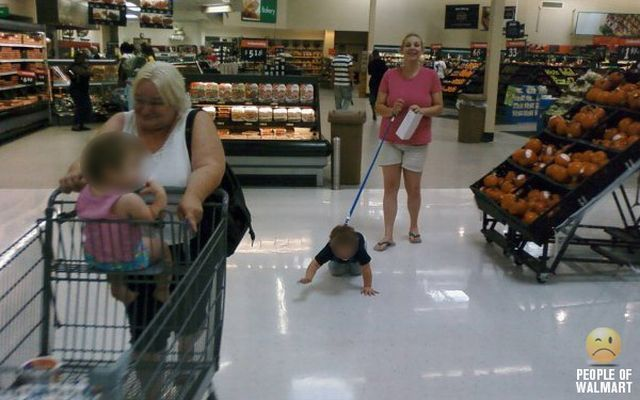 The weird and funny people of walmart - Gallery