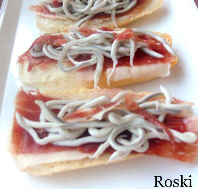Una selección de aperitivos compartida por la autora del blog Roski-cocina y algo más- Yus.