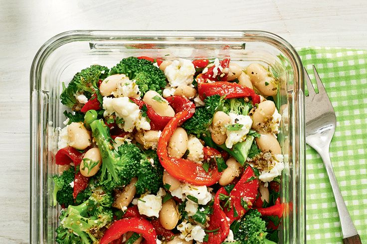 Marinated White Bean and Vegetable Salad