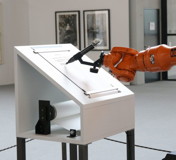 """Vitra Design Museum is presenting """"Hello, Robot"""". One question the exhibition asks is: Will the machines serve us or we them?"""