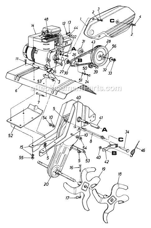 briggs stratton 5 hp rototiller model 212-340-000 manual