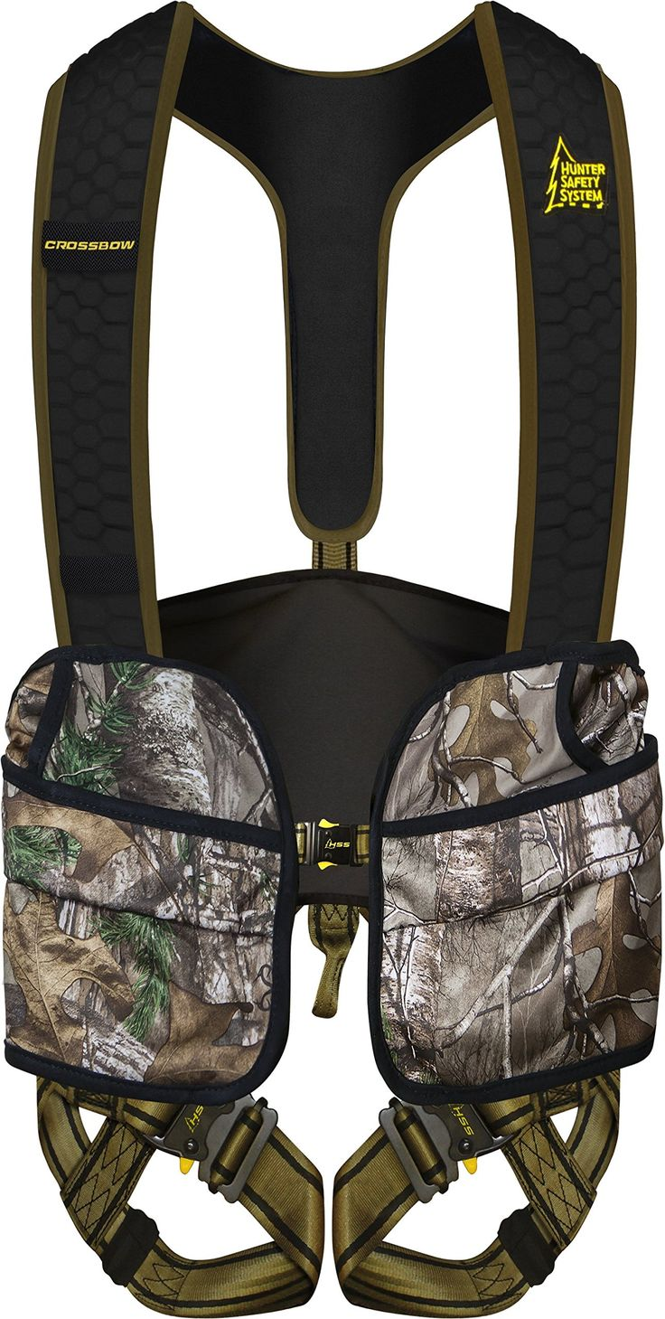 Hunter Safety System Crossbow Harness, Camo, S/M Hunter