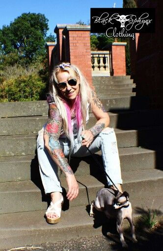 Black Sphynx clothing melbourne australia