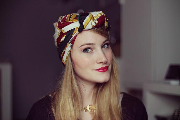 ♥ Tuto - Porter un foulard façon turban ♥ - Tiboudnez