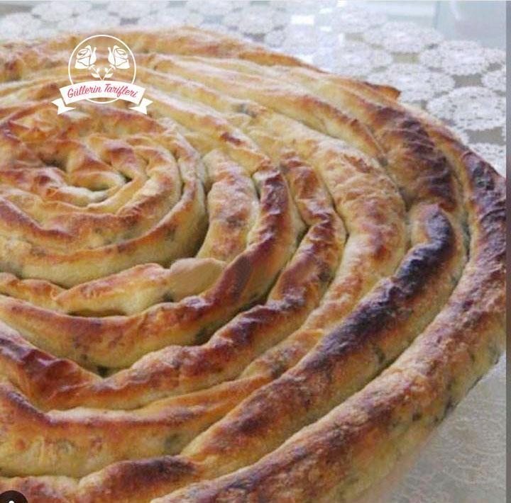 Peynirli Tereyağlı Börek | Güllerin Tarifleri