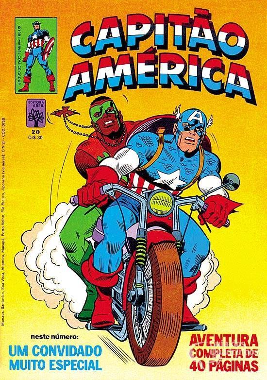 Capitão América n° 20/Abril | Guia dos Quadrinhos