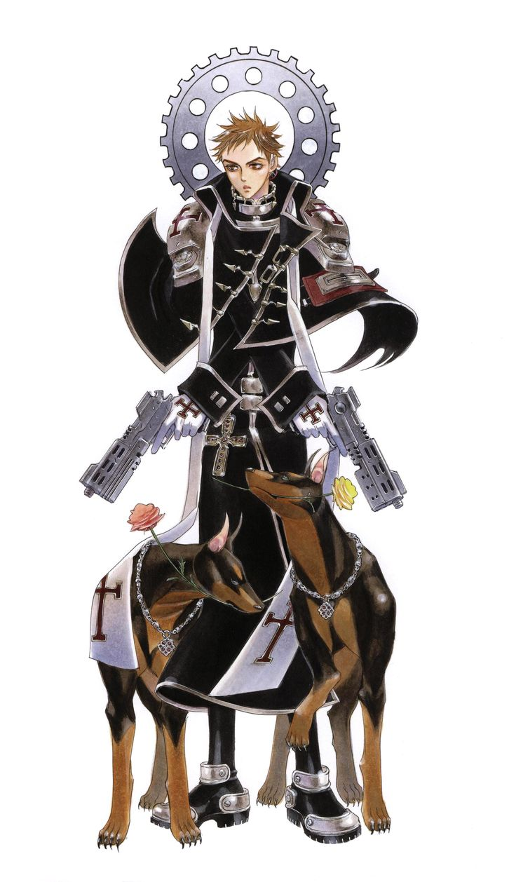 Tres Iques Trinity Blood