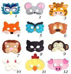 Dieses Angebot gilt für Auswahl Any 1 von unseren super niedlichen Filz Kinder-Masken. Diese sind groß, für Halloween, Kostüm-Parteien, alltägliche verkleiden sich und machen sie wunderbare Partei begünstigt auch. Kinder haben so viel Spaß mit unseren Masken ihrer Phantasie freien Lauf zu lassen. Jedes Kind liebt so tun Spiel und jetzt können Sie Ihr Kind haben eine lebhafte Phantasie mit unseren handgemachten Masken helfen. Die Masken sind etwa 7 1/4 x 5 Zoll je nach Stil. Jede Maske i...
