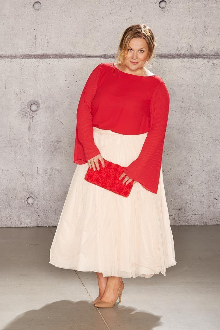 kleider für hochzeit als gast große größen | curvy fashion
