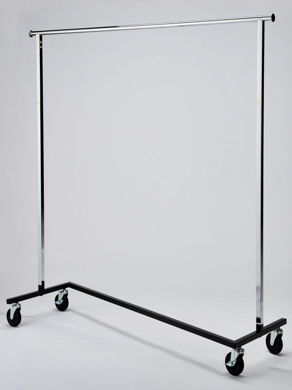 Chrome Garment Rail