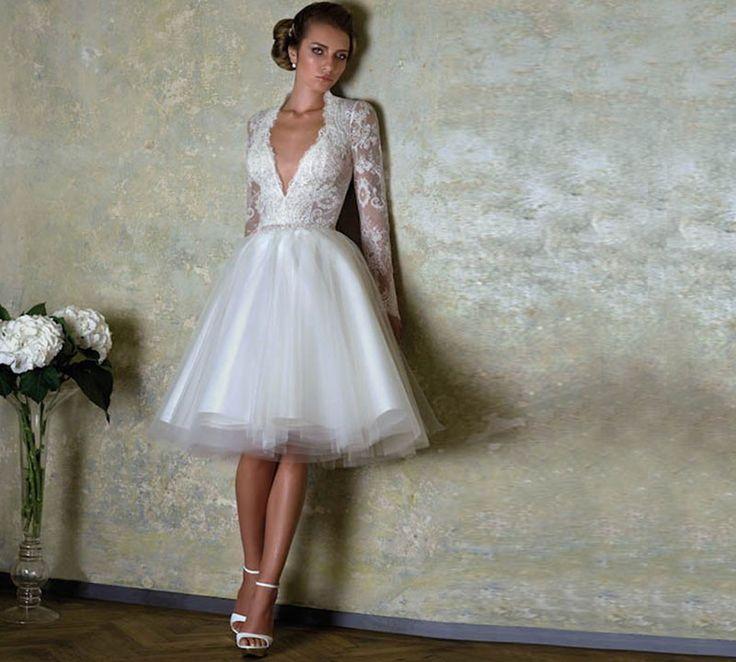 Νυφικά φορέματα μίνι και midi ιδανικά όχι μόνο για γάμους, αλλά και για πάρτι αρραβώνων, bridal shower ή κάποια άλλη επίσημη και ιδιαίτερη για εσάς περίστασ