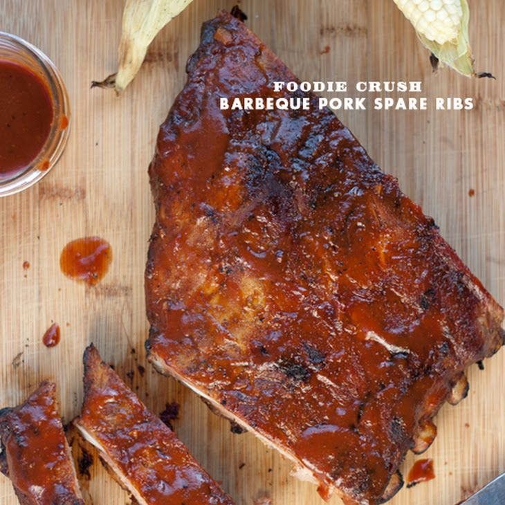 Barbeque Pork Ribs with Magic Dust Recipe Main Dishes with pork baby ...