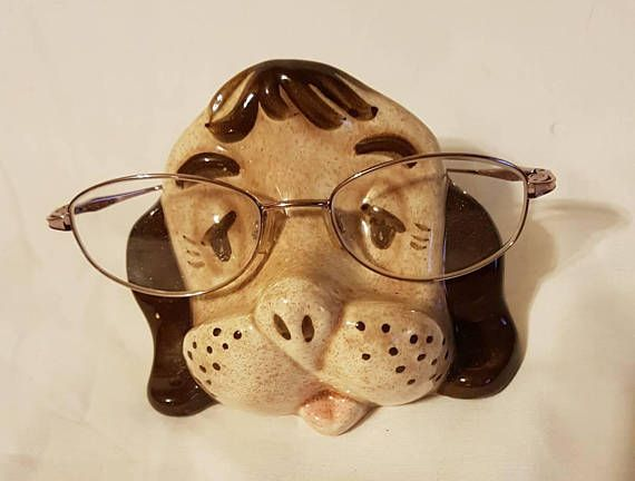 Check out this item in my Etsy shop https://www.etsy.com/ca/listing/515556105/ceramic-dog-glasses-stand-dog-eyeglass