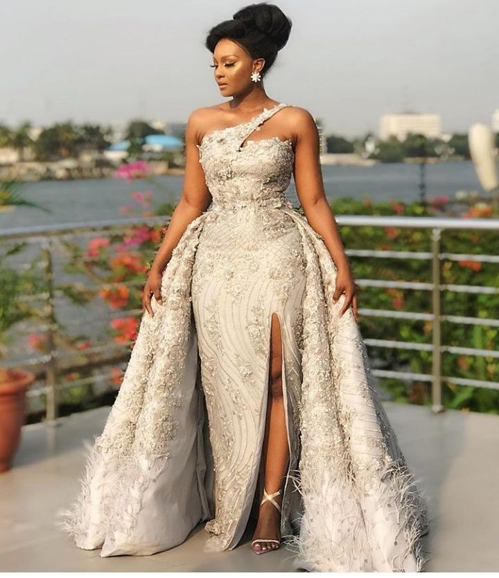 Osas Ighodaro Dazzling In Enthralling Outfits To The Film Gala Photos African Prom Dresses African Fashion Dresses African Wedding Attire