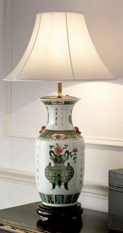 Lámpara de cerámica 45 x 45 x 80