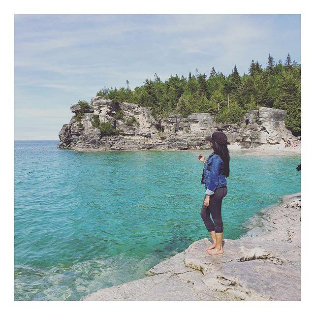 Views. || #BrucePeninsula #Grotto #Tobermory #Ontario #Camping #Hiking #brucepeninsulacamping #brucepeninsulagrotto #tobermoryontario #discoverontario #brucepeninsulanationalpark #georgianbay #cypruslake