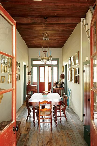 Originally built in the 1840s, this Creole cottage sits ...
