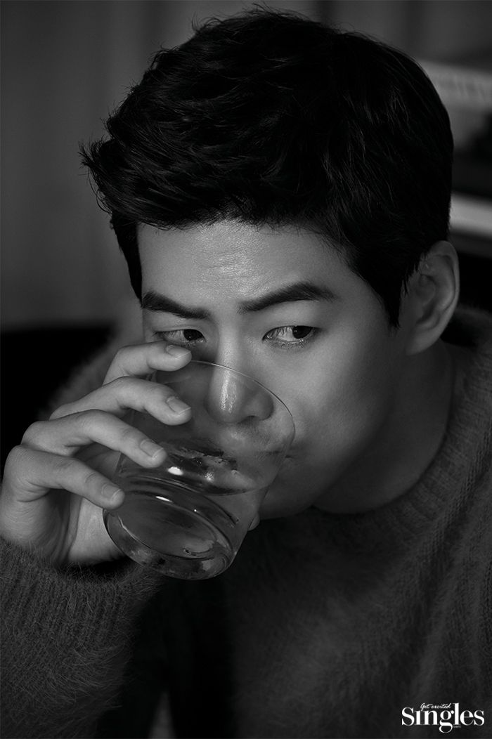 Lee Sang Yoon - Singles Magazine October Issue '16