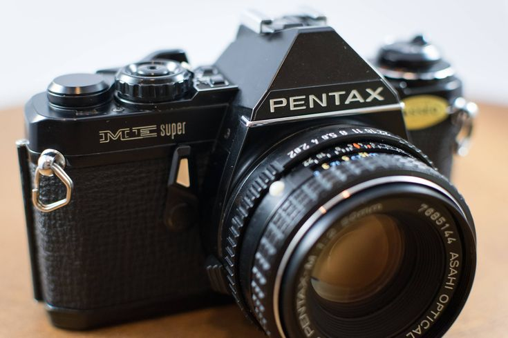 I'm super impressed with this camera! I love changing shutter speed with the tiny buttons on top instead of a traditional wheel! Pentax ME Super: http://etsy.me/2C52EvC #pentax #etsy #MEsuper #PentaxMEsuper #believeinfilm #filmisnotdead #jtcameraandphoto
