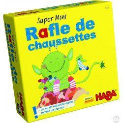 Rafle de chaussettes - Mini jeu Haba