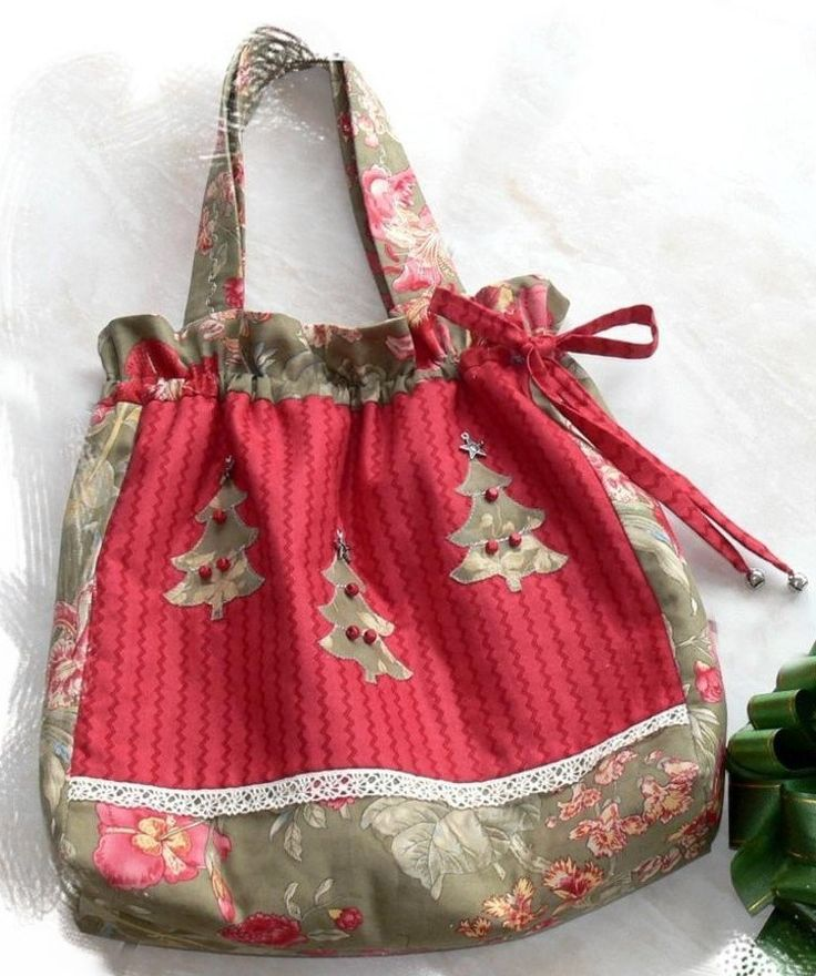 o christmas tree bag pdf pattern - Christmas Tree Bags