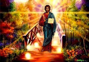 Luaţi  Lumină: Cu adevarat Hristos este pururi cu noi, precum lum...